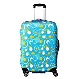 """WATERFLY Durable Elastic Luggage Suitcase Protective Cover Luggage Baggage Protector Suitcase Cover For 20""""-28"""""""