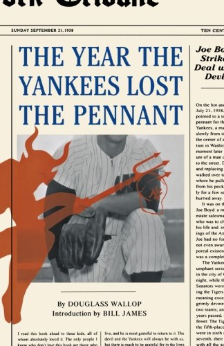 Book cover for The Year the Yankees Lost the Pennant