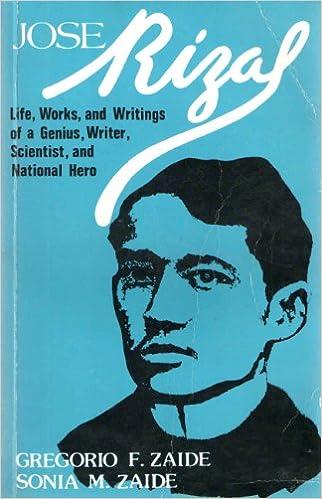 life and works of jose rizal pdf