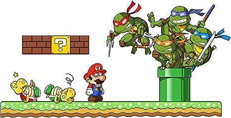 Sacs bandoulière Tortues Ninja - Mario Bros parodique ...