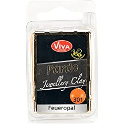 Viva Decor Pardo Jewelry Clay, 56g, Fire Opal
