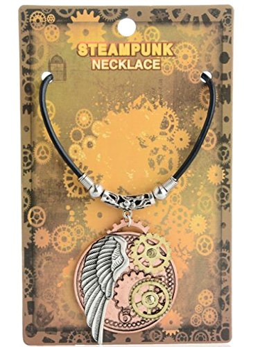 Heilong Fashion Retro Steampunk Gear Necklace Pendants Glamour Jewelry Accessories Gifts 8