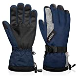 FengNiao Winter Gloves Thermal Ski Gloves Waterproof Windproof Men Women 3M Thinsulate Snowboard