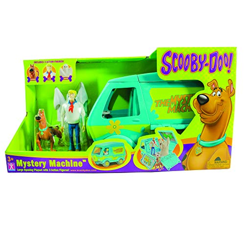 Scooby Doo SCD60663 Toy Playset with Action Figures Multicolor