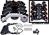 intake manifold lincoln towncar - APDTY 726286 Intake Manifold Kit w/Gaskets Fits 4.6L V8 Engine 99-04 Mustang 02 Explorer Mountaineer 00-11 Grand Marquis Crown Victoria Town Car Includes Police Interceptor Includes Taxi-Cabs & Limo's