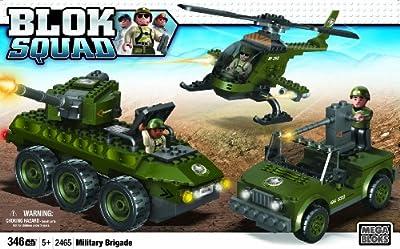 Megabloks Blok Squad Army Military Brigade from Megabloks