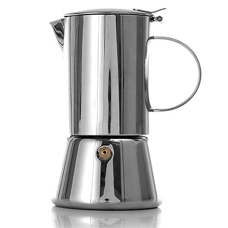 SJQ-coffee pot Cafetera Cafetera de Moca Italiana de Acero ...