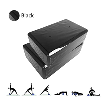 Amazon.com: LieYuSport Yoga Block,High Density Anti-Slip EVA ...