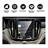 2018 Volvo XC60 Sensus Navigation System Car Navigation Screen Protector, RUIYA HD Clear TEMPERED GLASS Car In-Dash Screen Protective Film