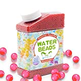 water filler system - SailFish Water Beads,9 oz Pack (40000 Pcs) Gel Water Beads for Vases Filler,Plants,Wedding,Party and Home Decorations,Kids Tactile Sensory Toys Magic Beads Growing Balls,Red