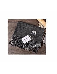 Acne Pure Color 100% Virgin Wool Cashmere Scarf Shawl Unisex Pashmina