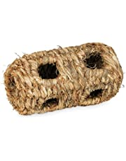 Prevue Hendryx 1092 Nature's Hideaway Grass Tunnel Toy, Small