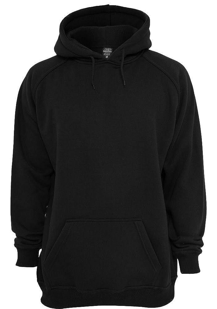 Urban Classics Herren Sweatshirt mit Kapuze overGrößed