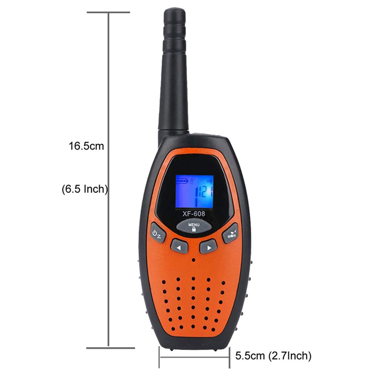 Fistone Walkie Talkies for Kids, 3 Packs 22 Channels 2 Way Radio Long Range Interphone Toys for Boy & Girls Age 3 6 7 8 9 12 Up for Outdoor Adventures, Camping, Hiking by Fistone (Image #7)