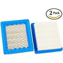 Podoy 36046 Air Filter for Tecumseh Ohh60 740061 4 5.5 Hp Engines Oh95 Oh195 Ohh50 Ohh55 Ohh65 Vlv50 Vlv55 Vlv60 Vlv66 Vlv126 Replace Stens 100-450(Pack of 2)