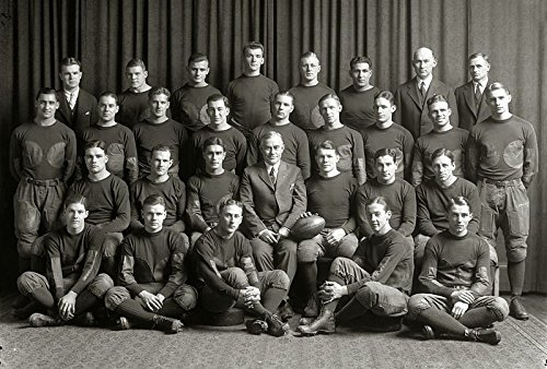 (8 x 10 Tin Sign 1925 Michigan Wolverines Football Team)
