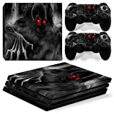PRO Decal,PS4 PRO Skin Sticker Protection Cover Dustproof PVC Material for Playstation 4 Pro Console (gray) Review