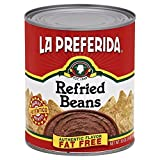 La Preferida Refried Beans Fat Free, 30-Ounce (Pack of 12)