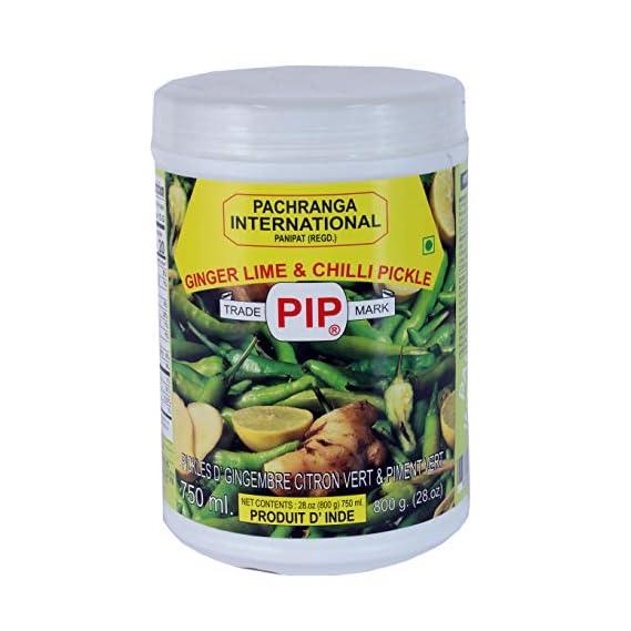 ACHAR PACHRANGA PACHRANGA International PIP Ginger Lime Chilli Pickle- 800gm