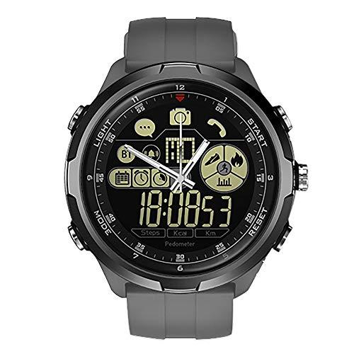Cywulin Zeblaze Vibe 4 Hybrid Smart Watch Fitness Tracker, IP67 Waterproof Sport Activity Tracking Bracelet Bluetooth Camera iOS Android Men Women Long Battery Life Luminescent Display (Gray) ()