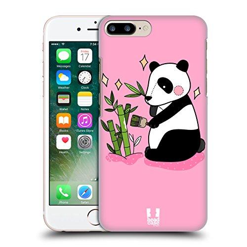 Head Case Designs Panda Ridipinto Cover Retro Rigida per Apple iPhone 7 Plus / 8 Plus