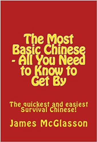 The Most Basic Chinese - All You Need To Know To Get By (Most ...