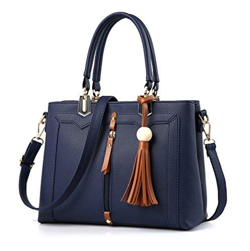 Lady Generoso Nueva Simple Gules Solo Bolso Blue Sesgado Ocio Hombro Spanning Y Bolsa Temperamento Moda GWQGZ qFEnfcSq