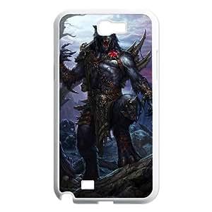 Werewolf Samsung Galaxy N2 7100 Cell Phone Case White Cuwrc