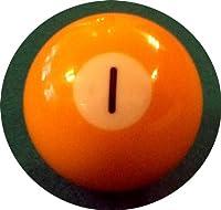 Billard-Einzelkugel 57,2 mm - Nr. 1