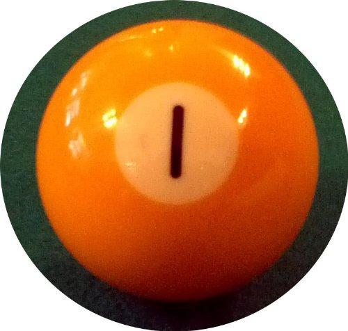 Billard-Einzelkugel 57,2 mm - Nr. 1 Premierdarts