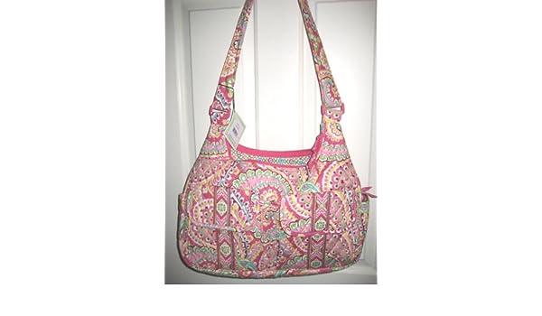 ec5df7e2cbb0 VERA BRADLEY CARGO SLING BAG - CAPRI MELON Pattern  Handbags  Amazon.com