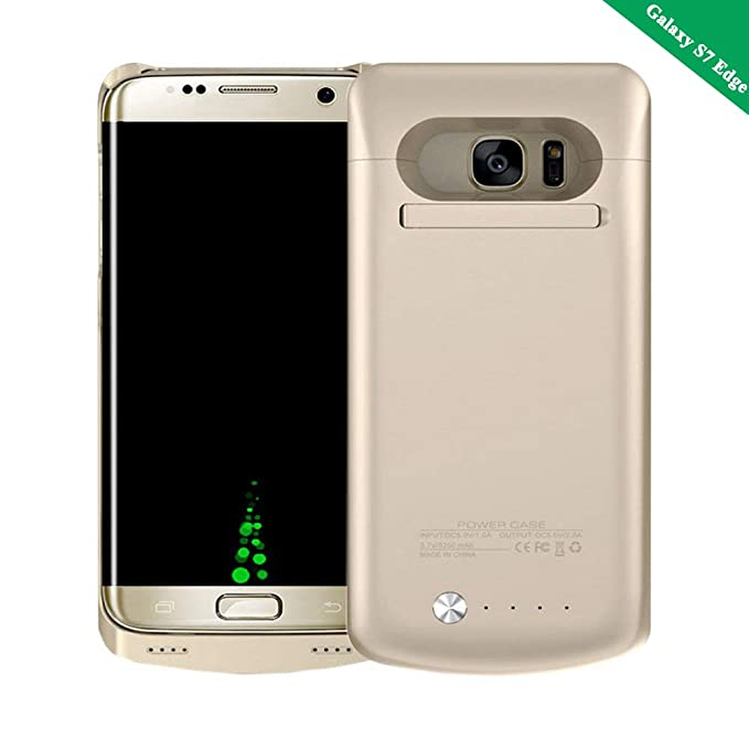 new product 90ce0 267e6 Idealforce Samsung Galaxy S7 Edge Battery Case,5200mAh External Power Bank  Cover Portable Charger Protective Charging Case for Samsung Galaxy S7 Edge  ...