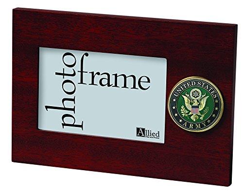 (Allied Frame US Army Medallion Desktop Landscape Picture Frame - 4 x 6)