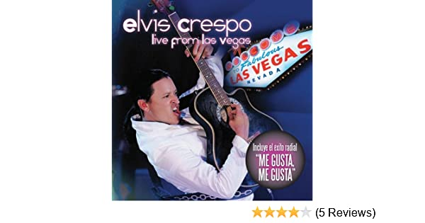 elvis crespo live from las vegas amazon com music