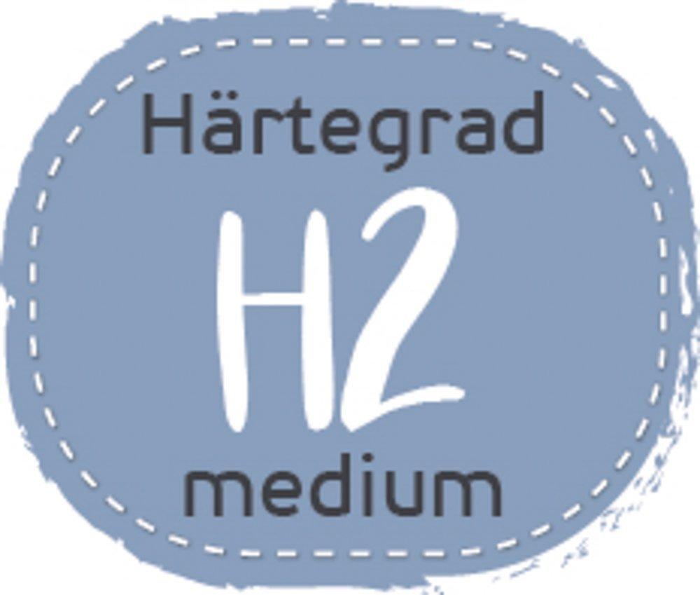 Badenia Bettcomfort 7-Zonen Kaltschaummatratze, Jubiläumsmodell 70 Jahre, Härtegrad 3, 3, 3, 100 x 200 cm, weiß 719ea1