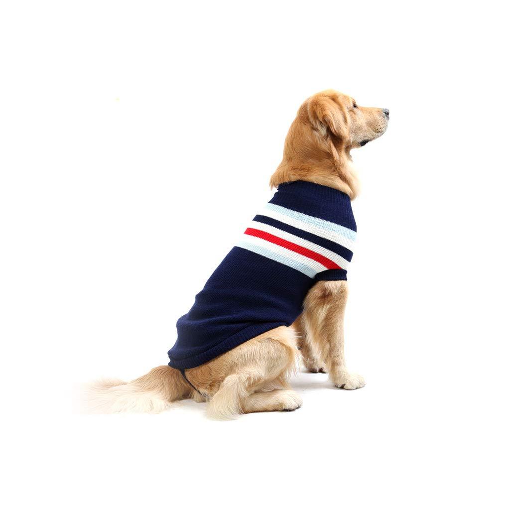Pet Clothes Winter,Dog Sweater, golden Retriever Labrador,S