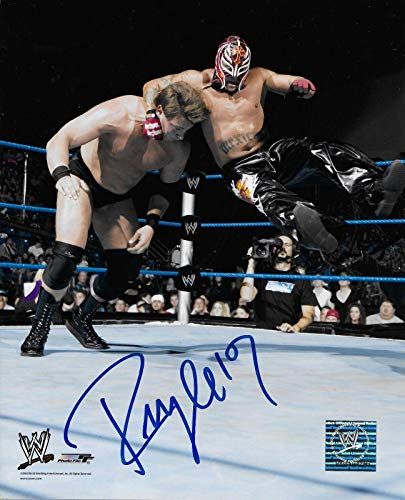 Rey Mysterio 619 Wwe Signed Autograph 8x10 Photo W/Proof Wrestling Ink - Autographed Wrestling Photos