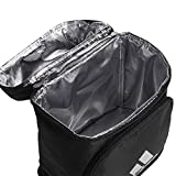 adidas Excel Insulated Lunch Bag, Black/Silver