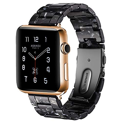 BONSTRAP Compatible Apple Watch Strap 42mm 44mm Strap Resin Bracelet