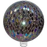 Very Cool Stuff Mosaic Ellipse Glass Globe, 10-Inch
