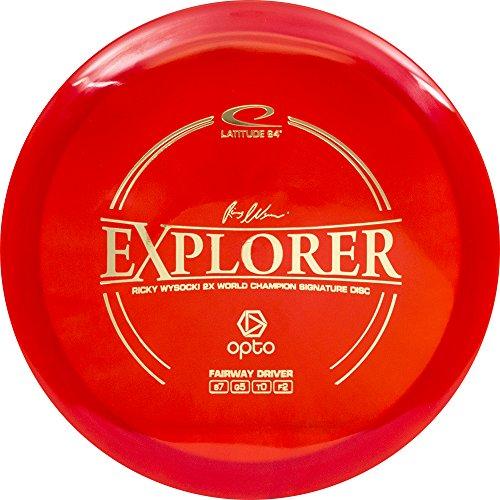 Explorer Driver (Latitude 64 Opto Line Explorer Fairway Driver Golf Disc [Colors may vary] - 170-172g)