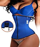 Product review for Gotoly Latex Zipper With Hooks Waist Trainer Fitness Body Shaper For Hourglass