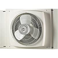 Lasko 2155A Electrically Reversible Window Fan, 16 Inches