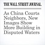 As China Courts Neighbors, New Images Show More Building in Disputed Waters | Jeremy Page