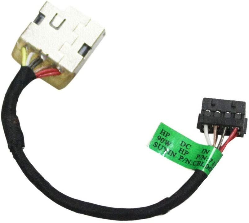 Laptop Replacement DC Power Jack Harness Cable Compatible with HP Pavilion 15-F 15-N 15-P 15-K 15-E, 15-F272WM 15-F162DX 15-N051SH 15-P029NR Series Laptop