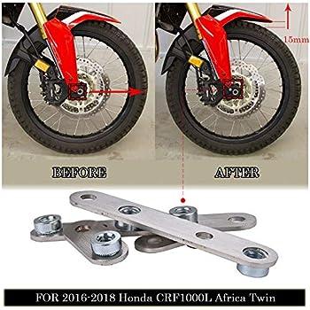 for Honda Africa Twin CRF1000D CRF1000L 2016-2017 WHITE Tusk High Fender Kit
