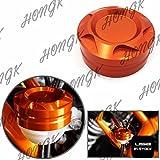 HKMT- Motorcycle Aluminum CNC Engine Rear Fluid Reservoir Cap for KTM DUKE 125/200/390