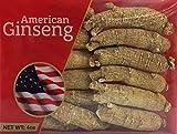 Ginseng Americano seleccionado a mano en caja de 4 Oz.