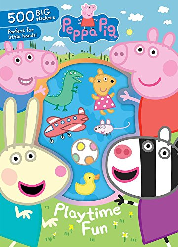 Peppa Pig Playtime Fun: 500 Big Stickers Perfect for Little Hands! -