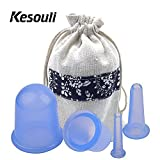 Best Cellulite Products - Anti Cellulite Cup, Kesouli 4 Pack Vacuum Massage Review